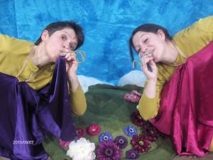 Sagofen Isadora och Lisbeth Hagerman