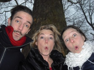 Henrik, Lotten och Josefina